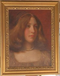 portrait de femme by william john whittemore