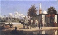 halte derrière la mosquée by lieutenant long