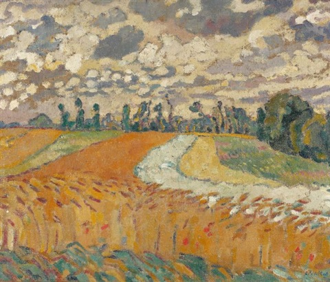 le champs de blé by louis valtat
