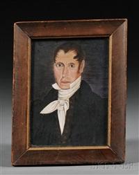 portrait of a gentleman by sheldon peck