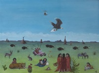 fantasy of native americans by jean jones jackson