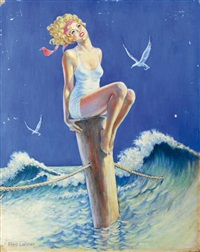 pin up et les mouettes by fred leister