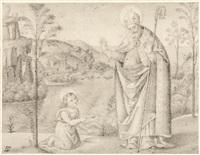 heiliger augustin by edward jakob von steinle