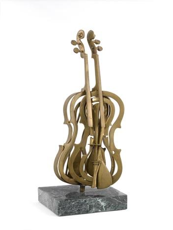violon découpé by arman