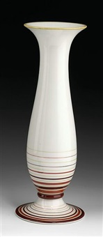 vase by allach porzellanmanufaktur