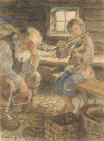 the talented musician by nikolai petrovich bogdanov belsky