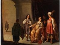 joseph wird von potiphars frau beschuldigt by pieter symonsz potter