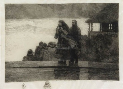 perils of the sea by winslow homer