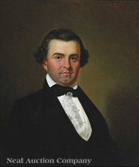 portrait of william joseph eddins, jr. by george caleb bingham