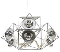 a poliedra ceiling light by felice ragazzo