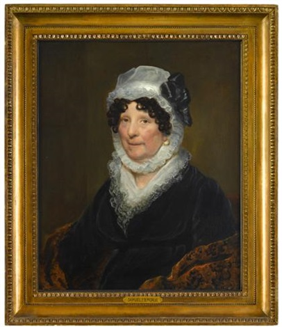 portrait of dolley madison 1768 1849 by samuel fb morse