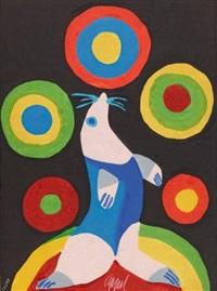 cirque fox by karel appel
