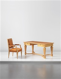 desk and armchair by andré arbus