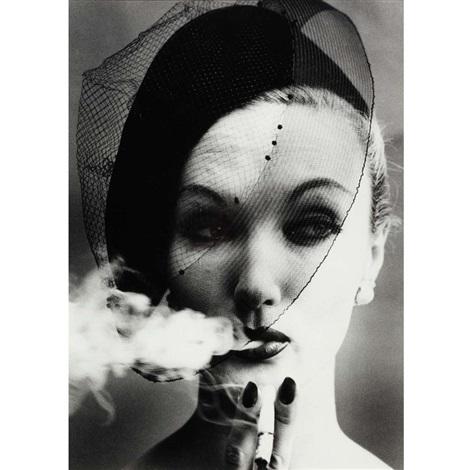 smoke veil paris vogue by william klein