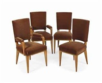 dining chairs (set of 12) by rené drouet