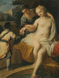 david and bathsheba by jacopo amigoni