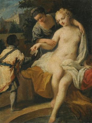 david and bathsheba by jacopo amigoni