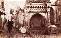 maroc. a moorish well. fontaine des slaghines, tanger by james valentine