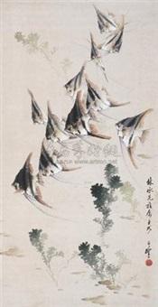 鱼乐图 by liang zhanfeng