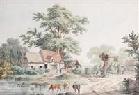 the three tuns inn by charles tomkins