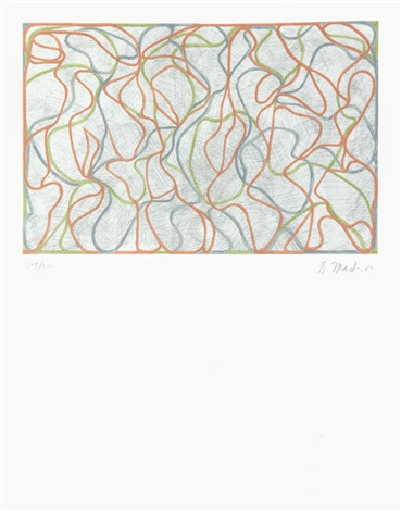 distant muses by brice marden