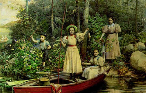 the fishing party by tito agujari