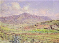 paisaje primaveral by juan llaverias labro
