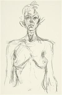 derrière le miroir (14 works) by alberto giacometti
