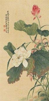 荷花娉婷 (lotus) by tang shishu