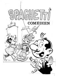 spaghetti comédien by dino attanasio