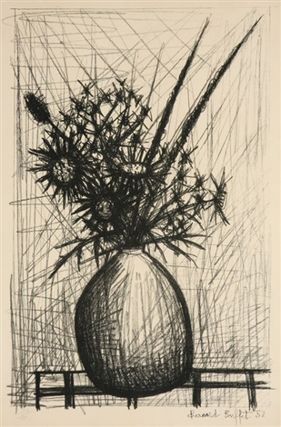 thistles by bernard buffet