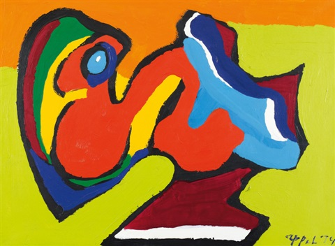 sans titre by karel appel