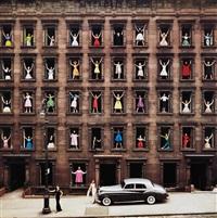 girls in windows, new york city by ormond gigli