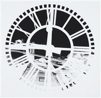 clock tower, brooklyn: june 29 by vera lutter