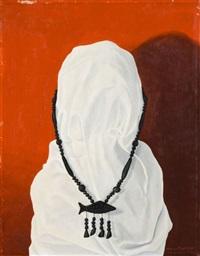 silhouette aux bijoux africains by cornelius postma