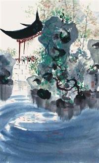 江南园林 by wu guanzhong