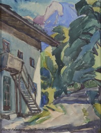 altes haus in königssee by kurt haase-jastrow