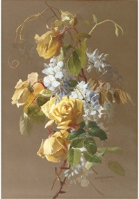 flowering branches by theresa maria hegg