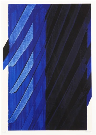 sans titre by pierre soulages