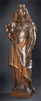 maria mit dem jesuskind by otto karl wilhelm könig