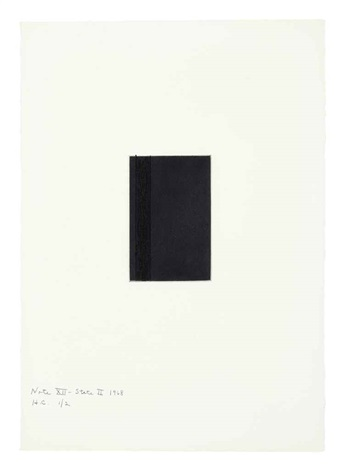 note xii state ii from notes by barnett newman