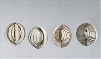 moon hanging lights (4) by verner panton
