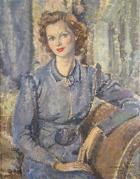 portrait of the actress elizabeth allan by cathleen s. mann