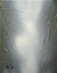 abstraction période blanche by françois archiguille