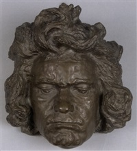 beethoven-maske by carl wollek