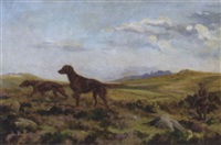 setters on a moor by w. h. roberts
