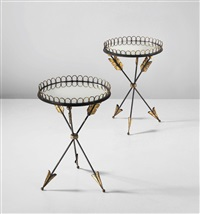 side tables (pair) by andré arbus