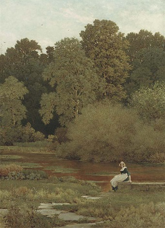 riverside wallingford by george dunlop leslie