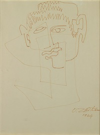 portret by ossip zadkine