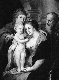 the holy family with st. anne by josef kreutzinger